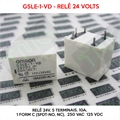 Relé 24VDC - G5LE-1-VD, 24VOLTS - Relé 24V, 10A, 5 Terminais, Power Relays, 1 Form C (SPDT-NO, NC), 250 VAC, 125 VDC, Gen Purpose Relay, OMRON