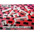 CONECTOR KK,Mini MACHO PCB Connector Socket wire-board Mini Male,PASSO 2,54 milímetros - DE 2 Á 20vias