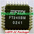 FT245BM - CI PARALLEL FIFO USB Interface IC Obsolete See FT245RL,LQFP-32