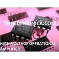 MC1436 - CI MC1436P1 High Voltage Operational Amplifier , Amplifiers and Comparators - Dip 8pin / obsoleto