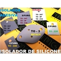 ISOLANTE ADESIVADO PARA TRANSISTORES, ISOLADOR DE TRANSISTORES, MICA ISOLANTE ADESIVO EM SILICONE, Thermal Transistor Insulator Pads, SIL-PAD