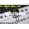 ML621S - BATERIA RECARREGAVEL 3V 5mAh, ML-621S Panasonic Micro Battery Rechargeable Button Coin Cell