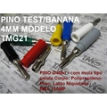 Pino BANANA 4Mm - Montagem cabo 15Amper, Pino: Ø4Mm Banana Plug Binding Post Conector - COLORS TYPE 0.021