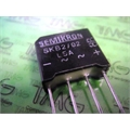 RS207 - PONTE DE DIODO RETIFICADORA, BRIDGE RECTIFIER Bridge Single 1000V 2A