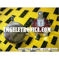 POTECIOMETRO 470K 2WATTS - Ø 28mm Rotary Potentiometer Carbon Film Linear Taper 4 Pinos
