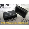 Relé 24VDC - MKB-3F-24 PCB, 24VOLTS - RELE Mount Relay 24VCC PCB Mount Relay 4PINOS