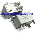RELE 24V-FINDER 66.82.8.024.0000 RELAY DPDT 24VAC 50A FLANGE