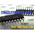 RCT72421B - CI REAL TIME CLOCK MODULE 4-BIT +/-50PPM DIP 18PIN