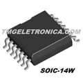 LM2574M-5.0  - CI Conv DC-DC Single Step Down 4V to 40V 14-Pin SOIC W Rail