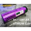 SL-760 - Bateria Lithium 3,6Volts Size AA,Battery Lithium TADIRAN BATTERIES - Battery, 3.6 V, AA, Lithium Thionyl Chloride