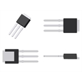 17P06 - TRANSISTOR FQU17P06, MOSFET P-CH 60V 12A 3-Pin SMD IPAK