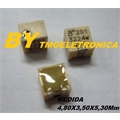 200R - Trimpot SMD TRIMMER 200 OHM 0.25W 11Turns SMD