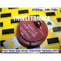 275PA40A - VARISTOR MOV ,Panel Mount High Energy Metal Oxide Varistors (MOV)
