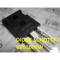 V80100PW - DIODO Schottky Rectifiers 80Amp, Diode Schottky TRENCH SKY 100V 80A - TO3PW
