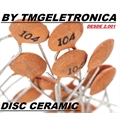 1,2KpF - Capacitor Ceramico Disco ,Ceramic Disc Capacitors 50Volts Single layer