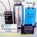 30UF - CAPACITOR DE PARTIDA 250VAC METALIC TERM FASTON
