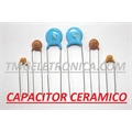 18KpF - Capacitor Ceramico Disco ,Ceramic Disc Capacitors 50Volts Single layer