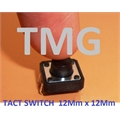 CHAVE TACT 9,5Mm -  12MmX12MmX9,5Mm 4 pinos - Tact Switches