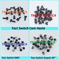 CHAVE TACT 5Mm - 6MmX6MmX5Mm 4 pinos - Tact Switches