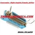 CONECTOR CENTRONICS 36PINOS MALE,FEMALE Solder,Angle º - CENTRONIC SOLDER CONNECTORS - MACHO OU FEMEA