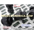 CONECTOR CIRCULAR POLARIZADO 9Vias - MACHO E FEMEA 9VIAS,plug housing female & male PLUG ,Socket 9 POSITION Automotive Bag