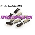 Cristal SMD 10MHZ, HC-49SMD, Crystals 10MHz Quartz Crystal Oscillator Frequency 10.0000MHz, Case HC-49/SM Metalic - SMD 2Pinos