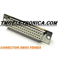 DB50 - Conector 50Vias,Solda Fio Macho OU Femea,D-Sub Connector Plug Female,Male Pins50 Position