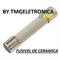 Fusível Cerâmico 5x20mm Com Retardo - Fuse, Cylinder, Time Delay/Slow Acting, Ceramic, 125/250Volts
