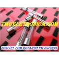 FUSIVEL C/ MOLA ESPIRAL 5x20MM,Fuse Cylinder Glass, Spiral,Cartridge, Slow Blow, Retardo 250VAC