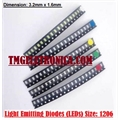LED SMD 1206, Light emitting diodes 1206 (3216 metric) Standard LEDs - SMD - 3.2mm x 1.6mm - Diversas Cores