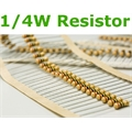 RESISTOR 1/4 Watts 5% tolerancia - 0R Ohms Á 910R OHMS