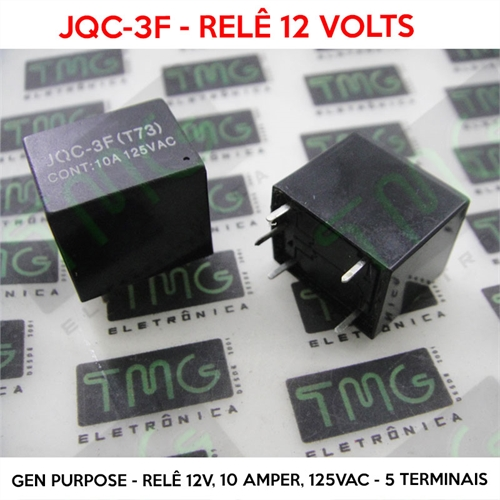 Power General Purpose Relay 10 A SPDT 12 VDC HRS4 Series
